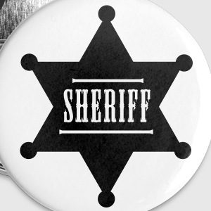 sheriff button - Buttons klein 25 mm