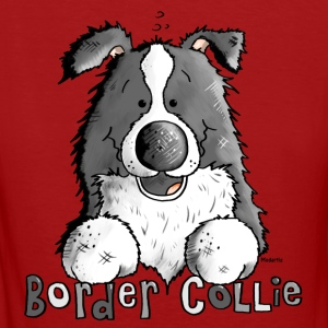 Süßer Border Collie - Hund T-Shirts - Frauen Bio-T-Shirt