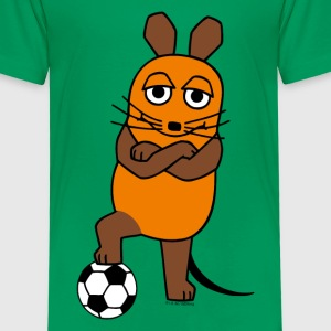 Kindershirt - Maus Fussball - Kinder Premium T-Shirt