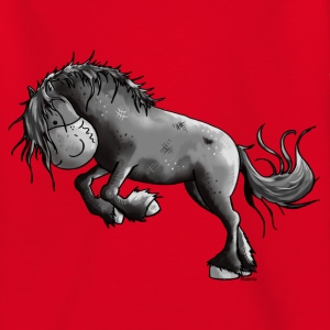 Wilder Friese - Pferd T-Shirts - Kinder T-Shirt