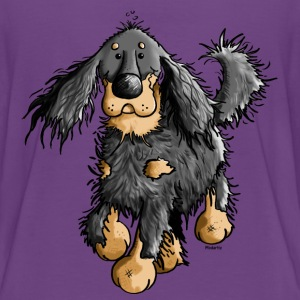 Running Gordon Setter - Dog  Shirts - Teenage Premium T-Shirt