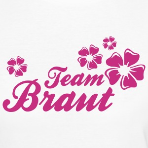 Team Braut T-Shirts - Frauen Bio-T-Shirt