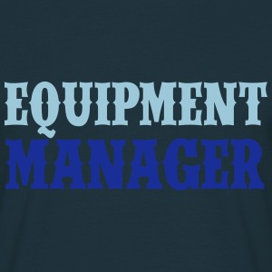 Equipment Manager 2C T-Shirts - Männer T-Shirt