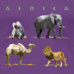 african_animals_06201402 T-Shirts - Frauen Premium T-Shirt