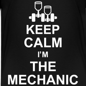 keep_calm_im_the_mechanic_g1 Magliette - Maglietta Premium per bambini