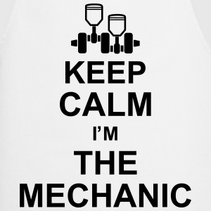 keep_calm_im_the_mechanic_g1 Grembiuli - Grembiule da cucina