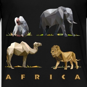 african_animals_06201401 T-Shirts - Kinder Premium T-Shirt