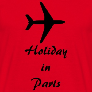 Holiday in Paris T-Shirts - Männer T-Shirt