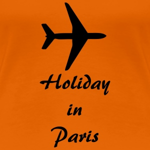 Holiday in Paris T-Shirts - Frauen Premium T-Shirt
