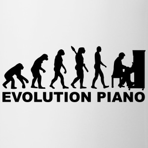 Evolution Piano Flaschen & Tassen - Tasse