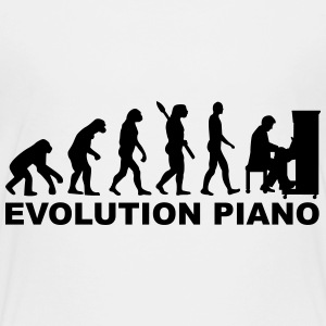 Evolution Piano T-Shirts - Kinder Premium T-Shirt
