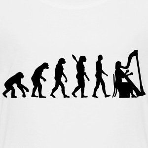 Evolution Harfe T-Shirts - Kinder Premium T-Shirt