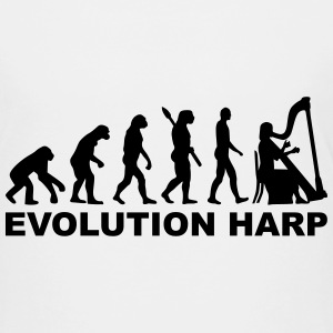 Evolution Harp T-Shirts - Kinder Premium T-Shirt