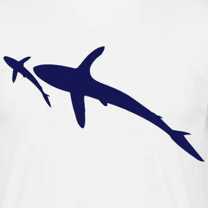 requins Tee shirts - T-shirt Homme