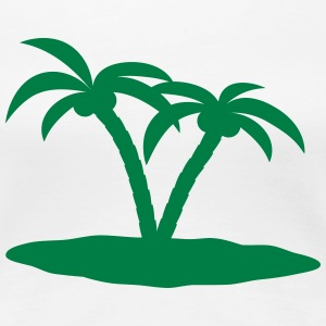 palm trees T-Shirts - Women's Premium T-Shirt