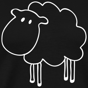 sheep schapen T-shirts - Mannen Premium T-shirt
