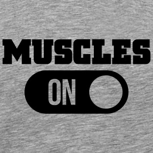 muscles T-Shirts - Men's Premium T-Shirt