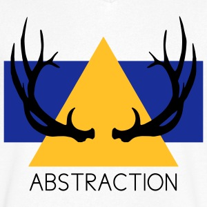 Abstraction Camisetas - Camiseta de pico hombre
