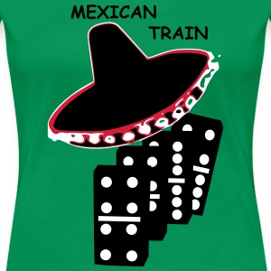 Mexican Train Steine  T-Shirts - Frauen Premium T-Shirt