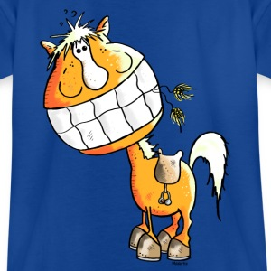 Laughing Horse - Horses Shirts - Teenage T-shirt