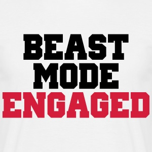 Beast Mode Engaged Camisetas - Camiseta hombre