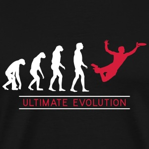 Ultimate Frisbee Evolution T-Shirts - Männer Premium T-Shirt