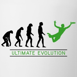 Ultimate Frisbee Evolution Flaschen & Tassen - Tasse