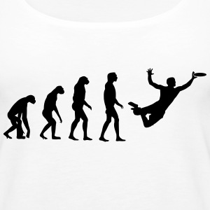 Ultimate Frisbee Evolution Tops - Frauen Premium Tank Top