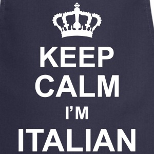 keep_calm_I'm_italian_g1  Aprons - Cooking Apron