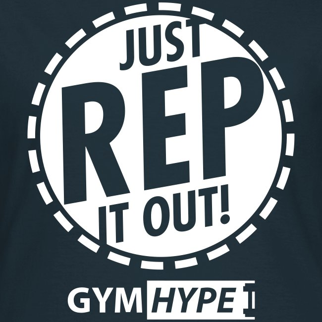 """Women's """"Just Rep It Out"""" T-shirt"""