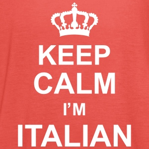 keep_calm_I'm_italian_g1 Tops - Women's Tank Top by Bella