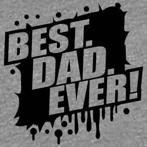 Best Dad Ever Graffiti Logo T-Shirts - Women's Premium T-Shirt