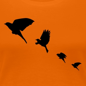 Bird flight T-Shirts - Women's Premium T-Shirt