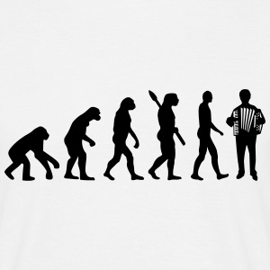 Evolution Akkordeon T-Shirts - Männer T-Shirt