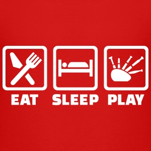Eat sleep Dudelsack T-Shirts - Kinder Premium T-Shirt