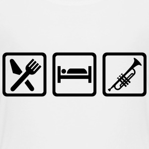 Eat sleep Trompete T-Shirts - Kinder Premium T-Shirt