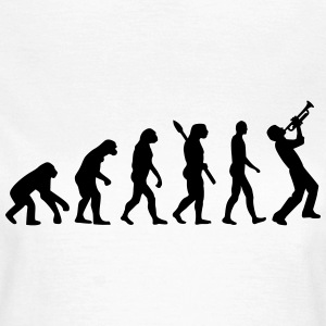 Evolution Trompete T-Shirts - Frauen T-Shirt