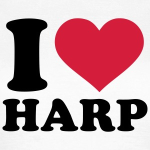 I love Harp T-Shirts - Frauen T-Shirt