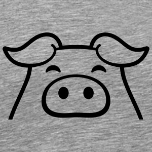 Little sweet piggy piglet T-Shirts - Men's Premium T-Shirt