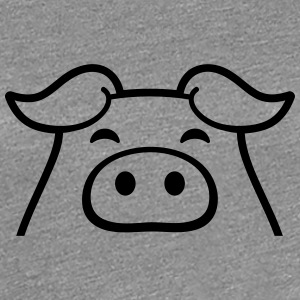 Little sweet piggy piglet T-Shirts - Women's Premium T-Shirt