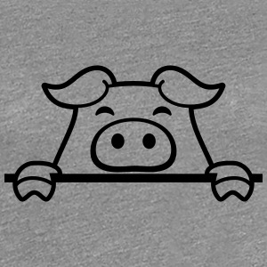 Small sweet piglet piggy T-Shirts - Women's Premium T-Shirt