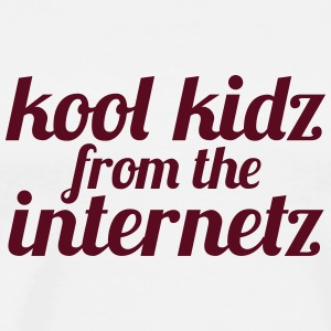 Kool Kidz from the Internetz T-Shirts - Männer Premium T-Shirt