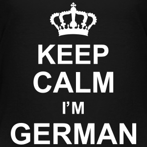 keep_calm_I'm_german_g1 Shirts - Kids' Premium T-Shirt