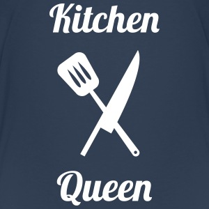 Kitchen Queen Skjorter - Premium T-skjorte for tenåringer