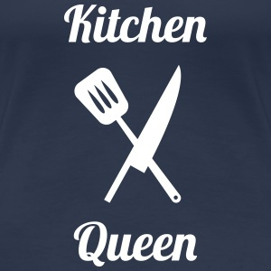 Kitchen Queen T-shirts - Dame premium T-shirt