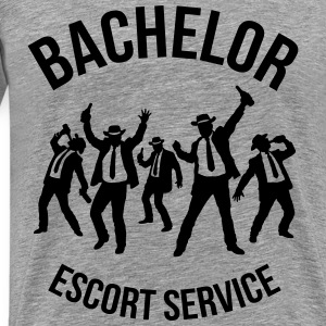 Bachelor Escort Service (Stag Party) T-Shirts - Men's Premium T-Shirt