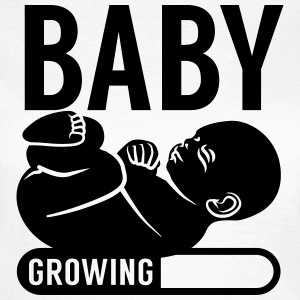Baby growing lastning bar T-shirts - T-shirt dam