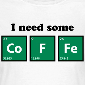 coffee, periodic table, chemie T-Shirts - Women's T-Shirt