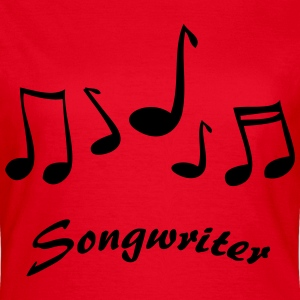 Songwriter T-Shirts - Frauen T-Shirt