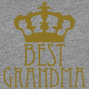 Best Grandma Queen Crown Logo T-Shirts - Frauen Premium T-Shirt
